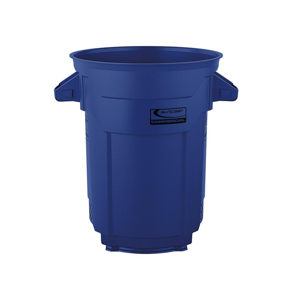 20 Gal. Blue Commercial Trash Can