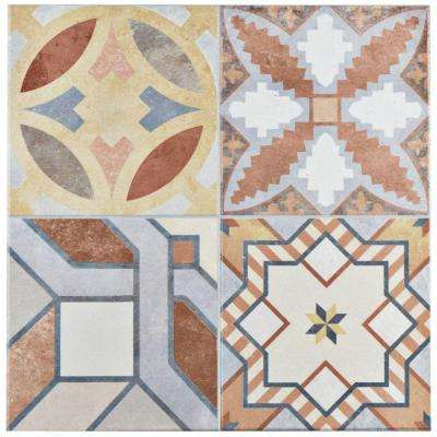 Hidraulico 13 in. x 13 in. Ceramic Floor and Wall Tile (13.13 sq. ft. / case)