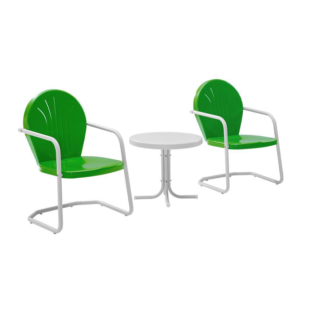 Griffith Green 3-Piece Metal Conversation Set