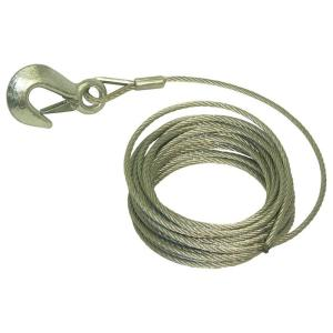 25 ft. x 3/16 inch Trailer Winch Cable by