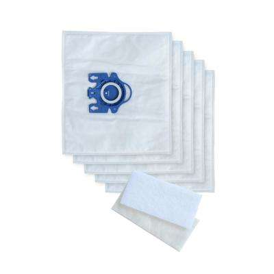 Replacement F/J/M HEPA Vacuum Bags and Filters Designed to Fit Miele Vacuums
