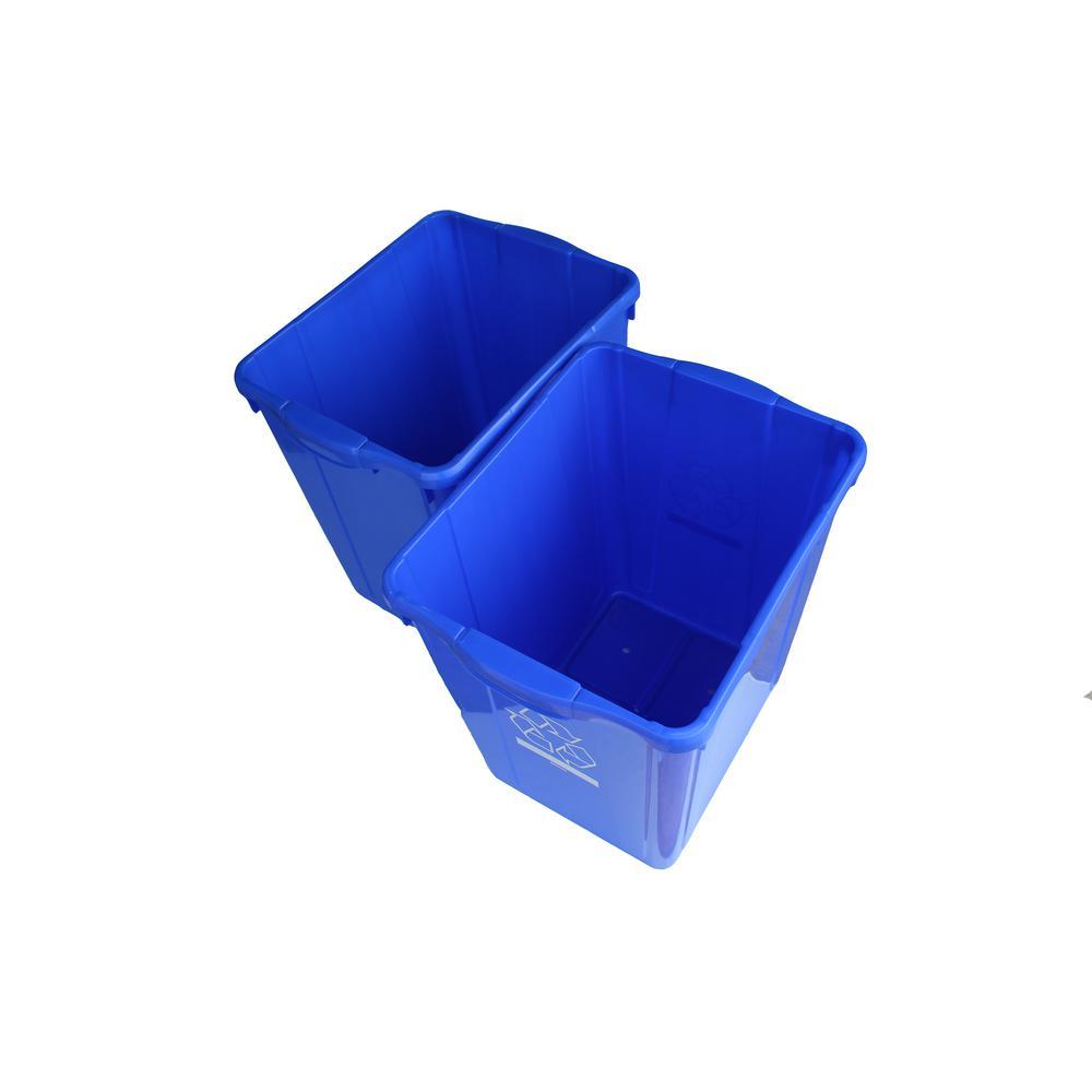 Enviro World 22 Gal. Recycling Box (2-Pack)