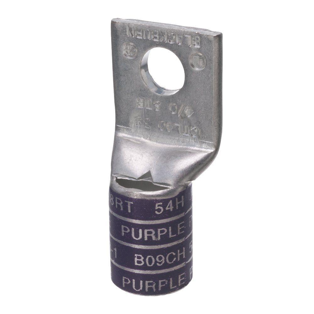 Blackburn Copper 1-Hole SH Bar 4/0 3/8 Lug, Purple-CTL40-38-B1-6 ...