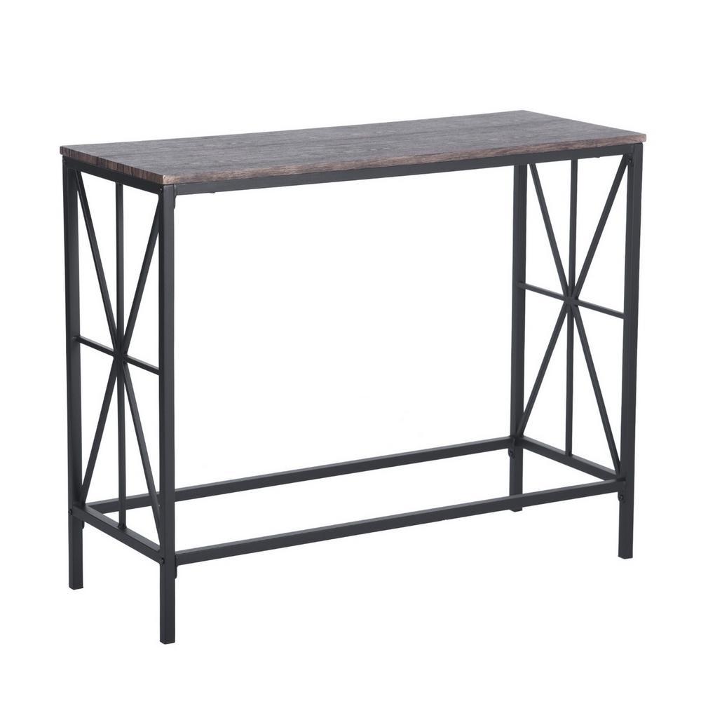 NAVIN Industrial Style Console Desk