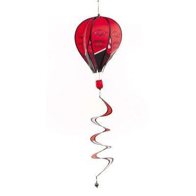 NCAA Arkansas Razorbacks Hot Air Balloon Spinner