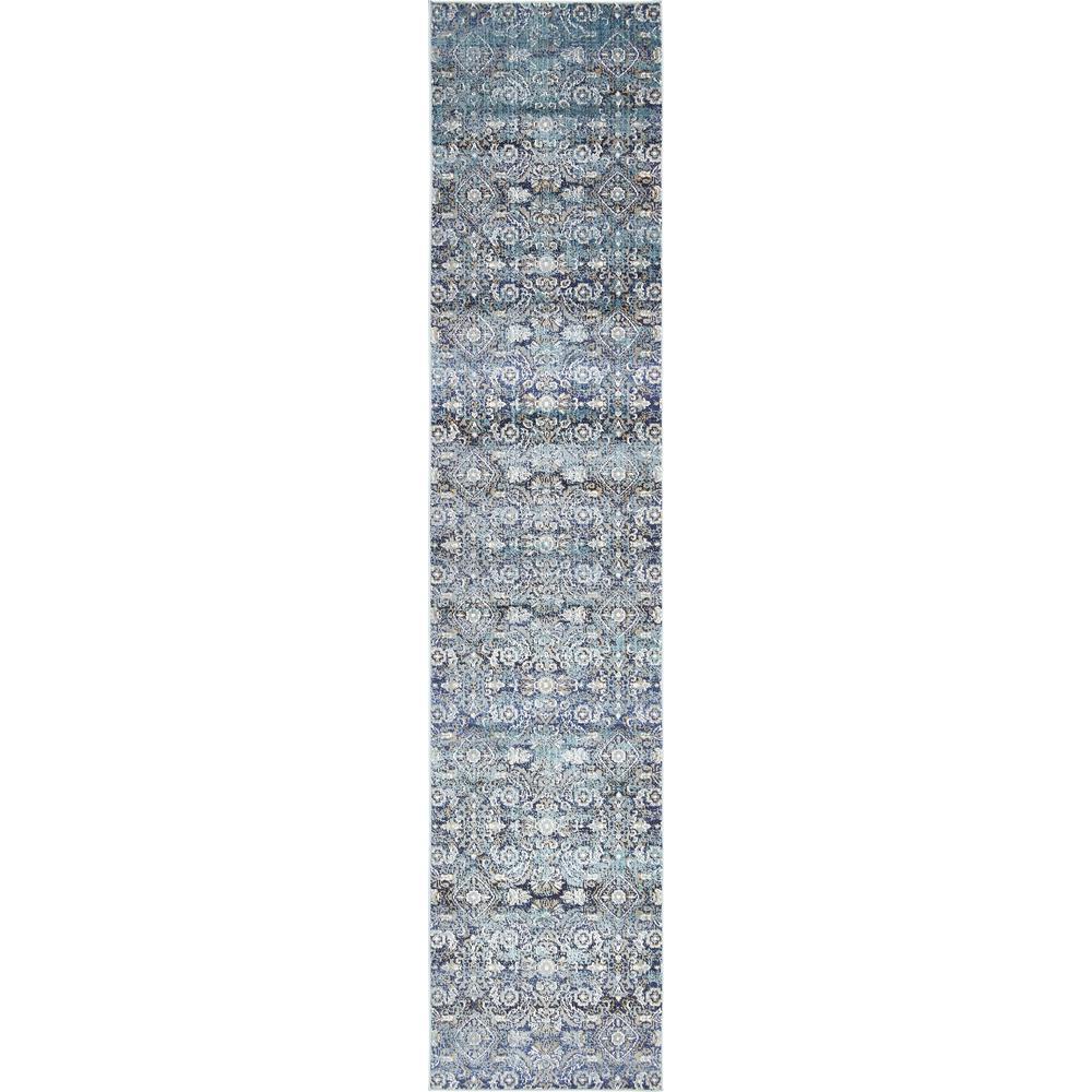 Unique Loom Augustus Venice Teal 2 7 X