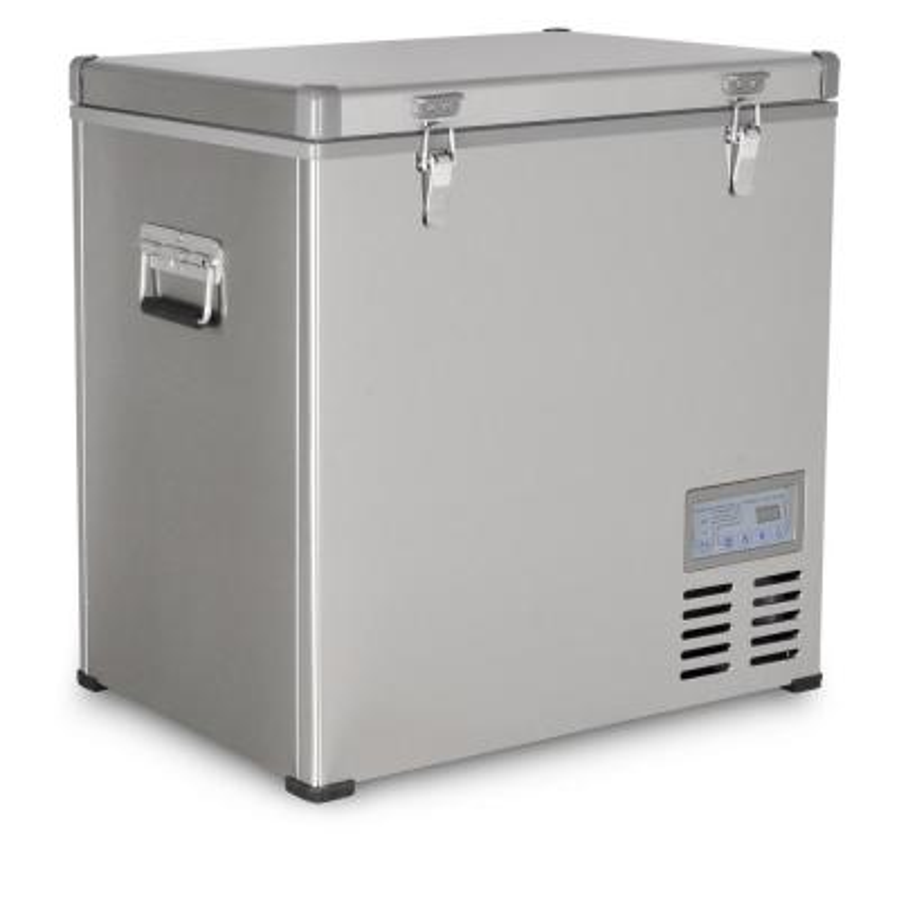 2.3 cu. ft. 68 qt. Portable Refrigerator/Freezer Stainless Steel
