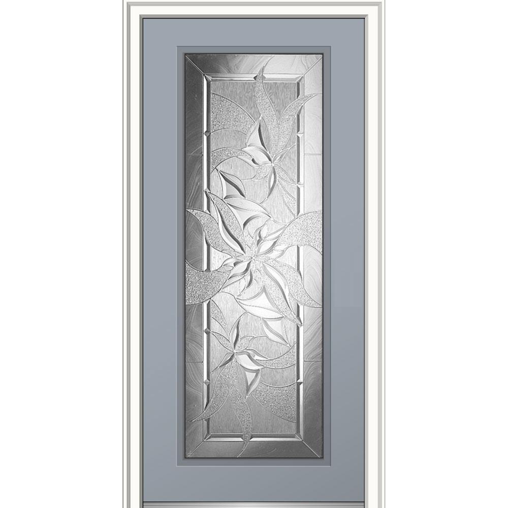 Mmi Door 32 In X 80 In Impressions Left Hand Inswing Full Lite
