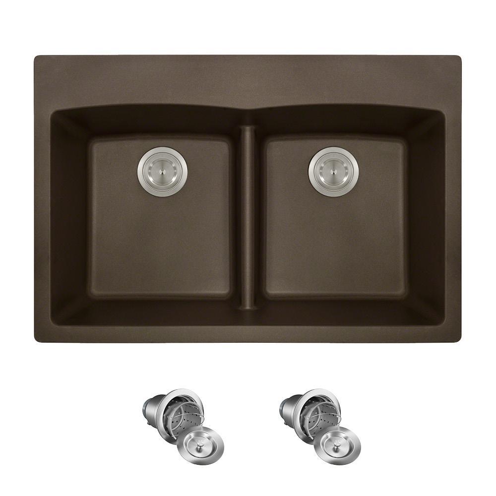 Low Divide Kitchen Sink