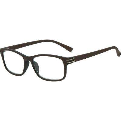 Silverton Brown Men's 2.00 Diopter Reading Glasses