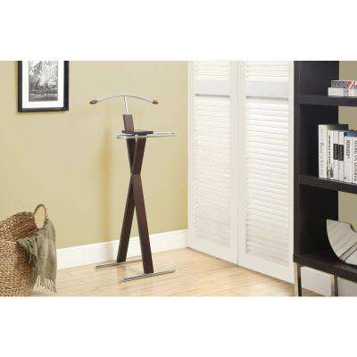 Cappuccino Wall Mounted Coat Rack
