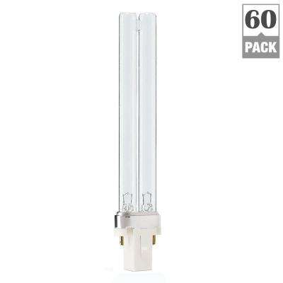 5-Watt PL-S 2-Pin (G23) TUV Germicidal CFL Light Bulb (60 per Case)