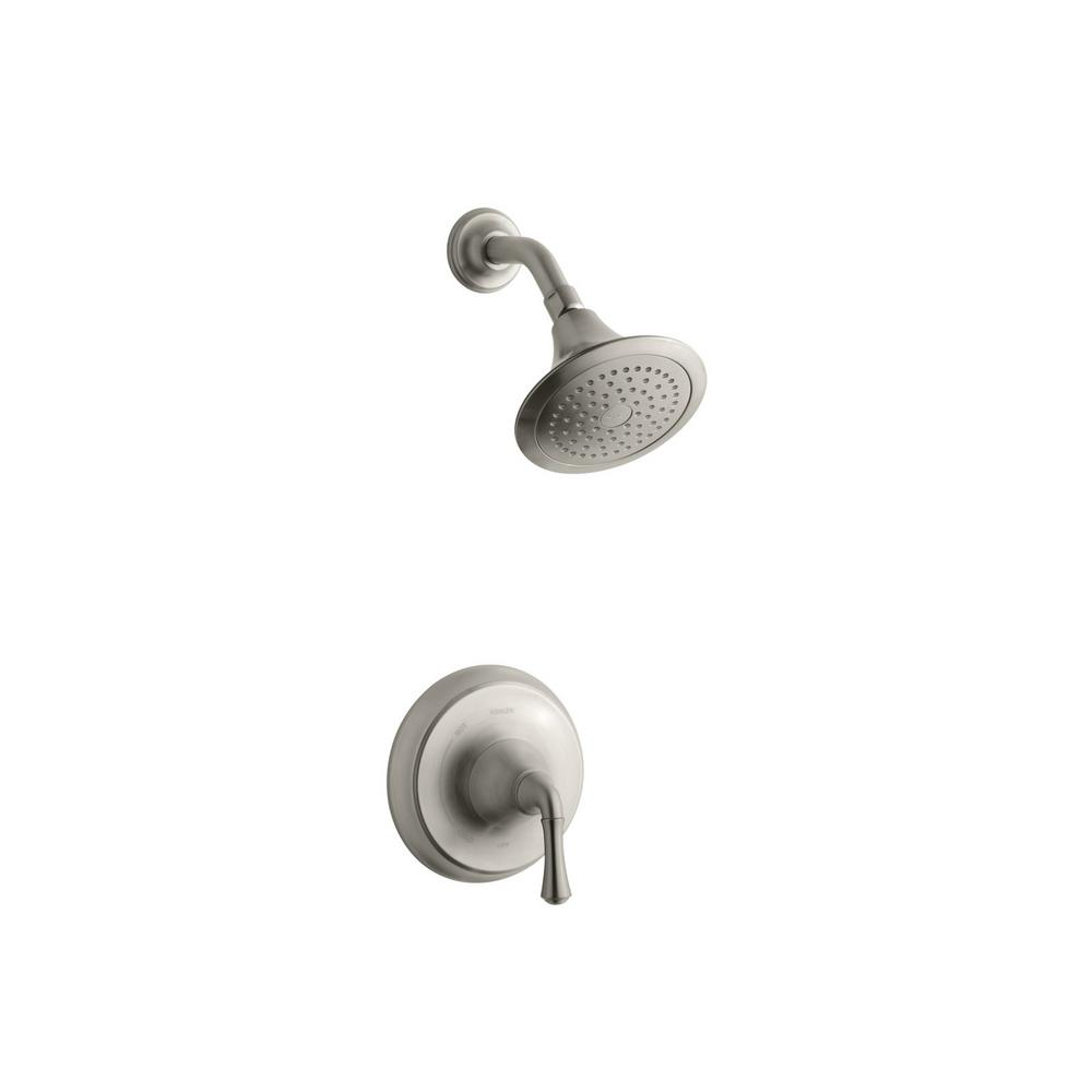 Fort Traditional 1-Spray 6 in. 2.0 GPM Fixed Shower Head in