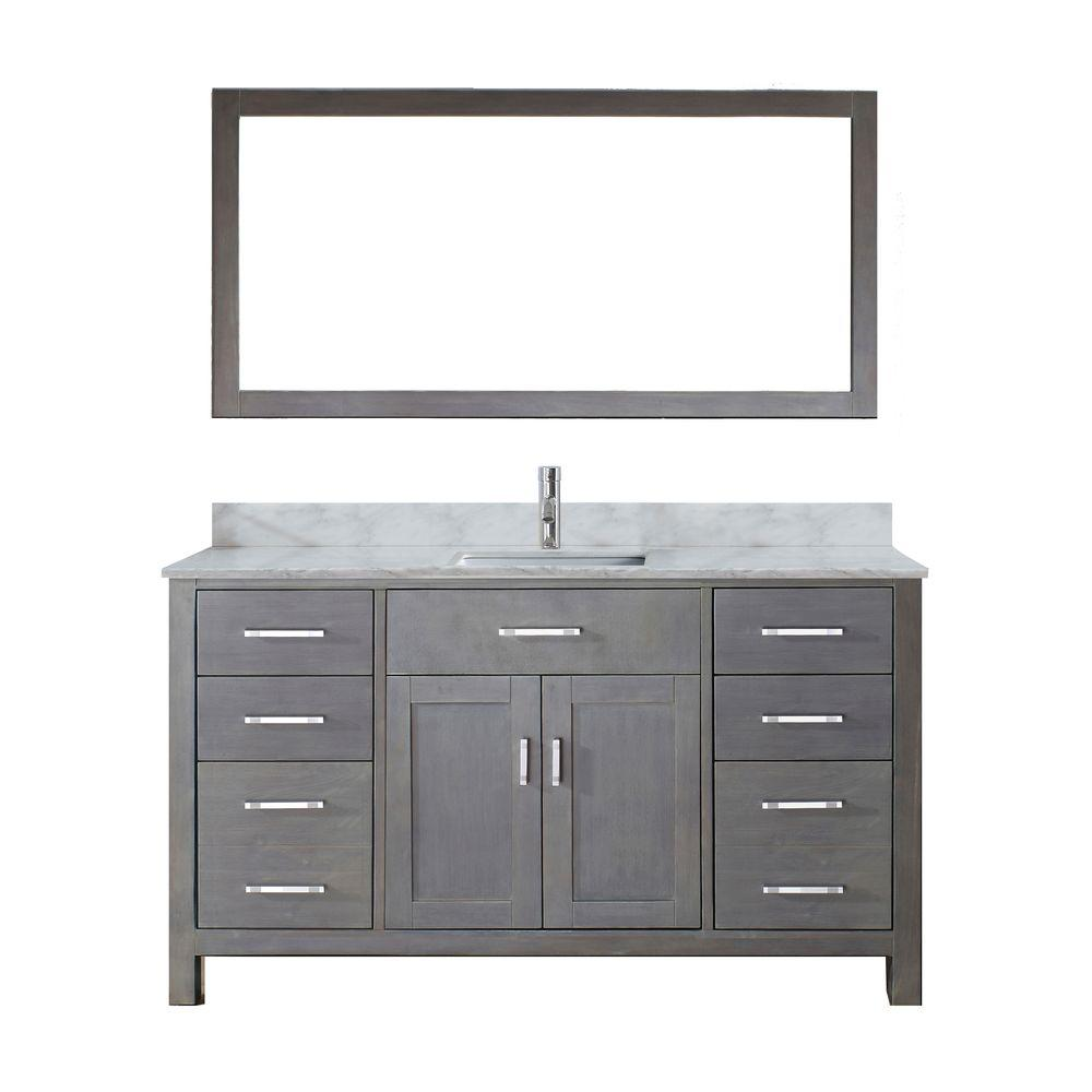 Kalize 60 in. W x 22 in. D Vanity in French