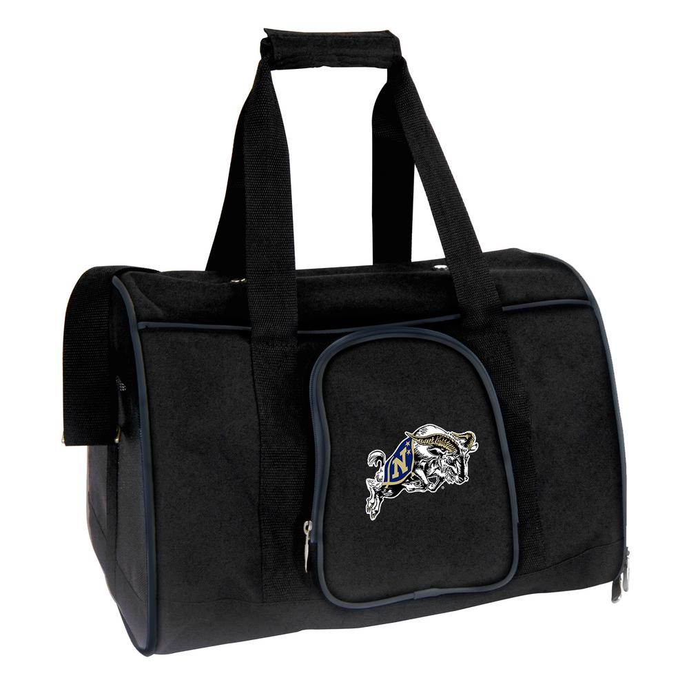 NCAA US Naval Academy Midshipmen Pet Carrier Premium 16 in. Bag