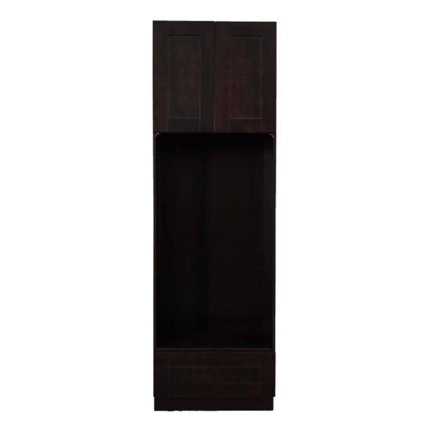 LIFEART CABINETRY Anchester Assembled 30 in. x 84 in. x 24 ...