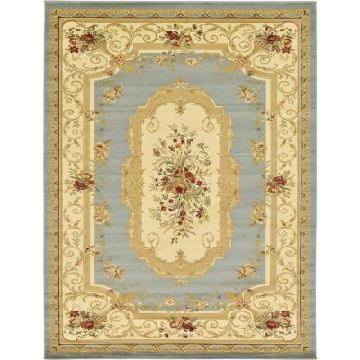 Versailles Henry Light Blue 9' 0 x 12' 0 Area Rug