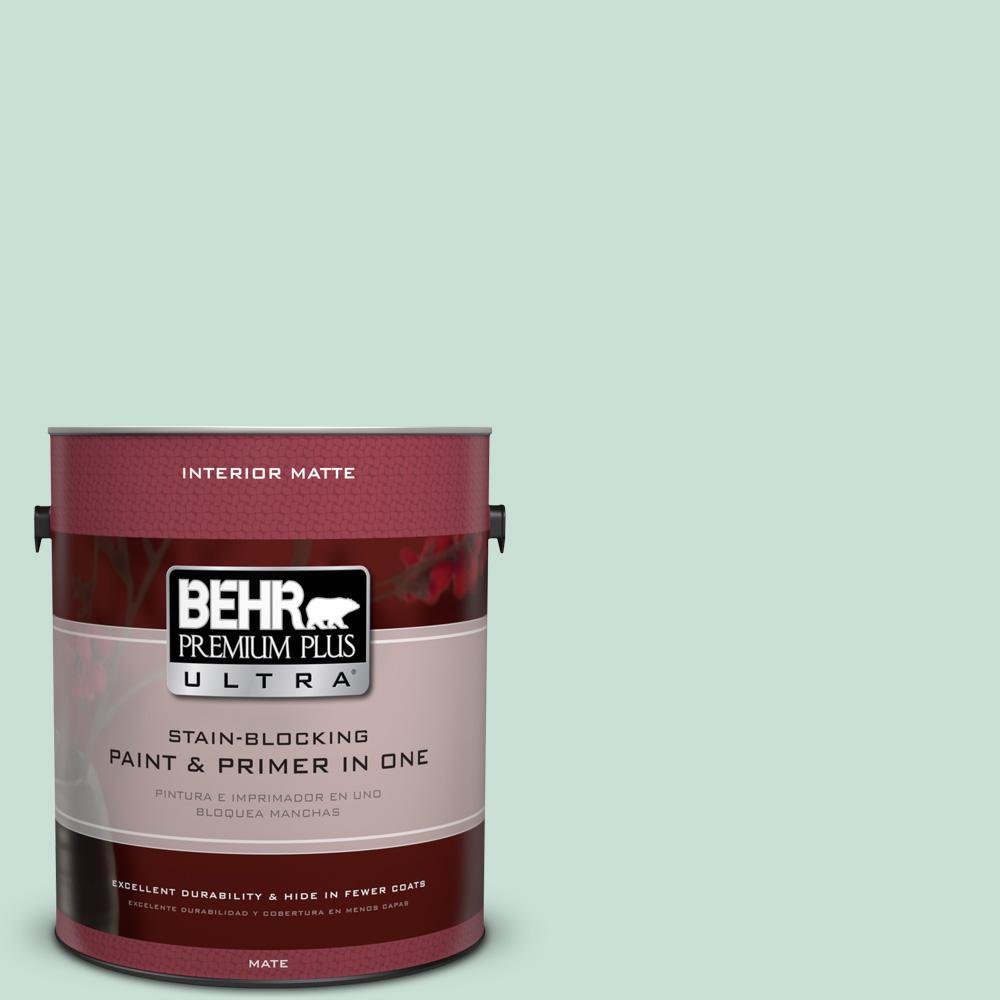 1 gal. #M430-2 Ice Rink Matte Interior Paint