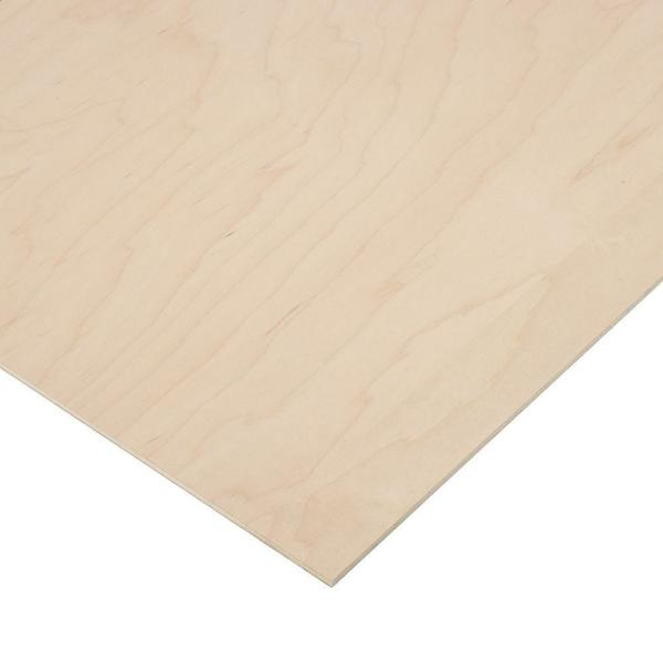 1/4 in. x 2 ft. x 4 ft. PureBond Maple Plywood Project Panel (Free Custom Cut Available)