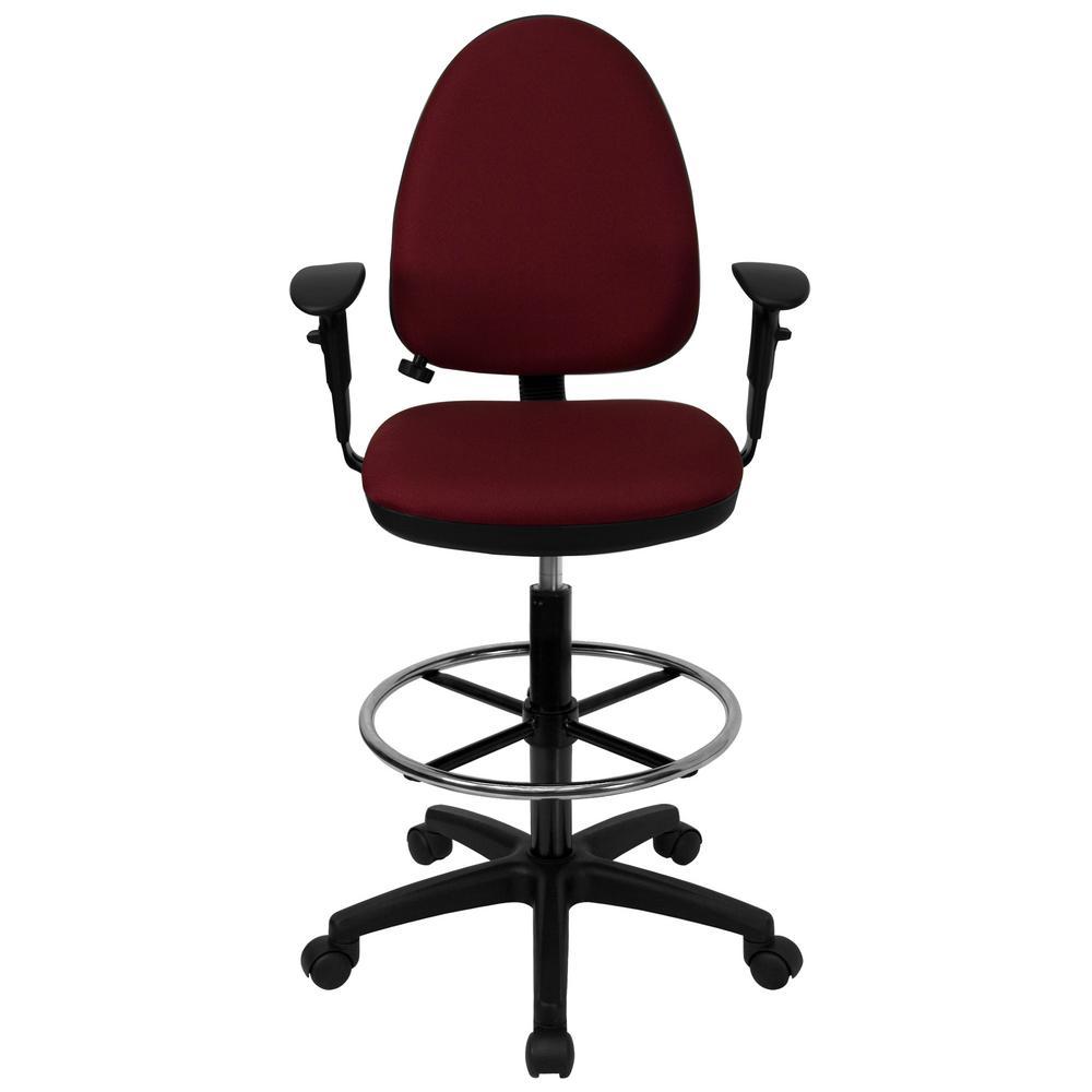 Burgundy Office/Desk Chair