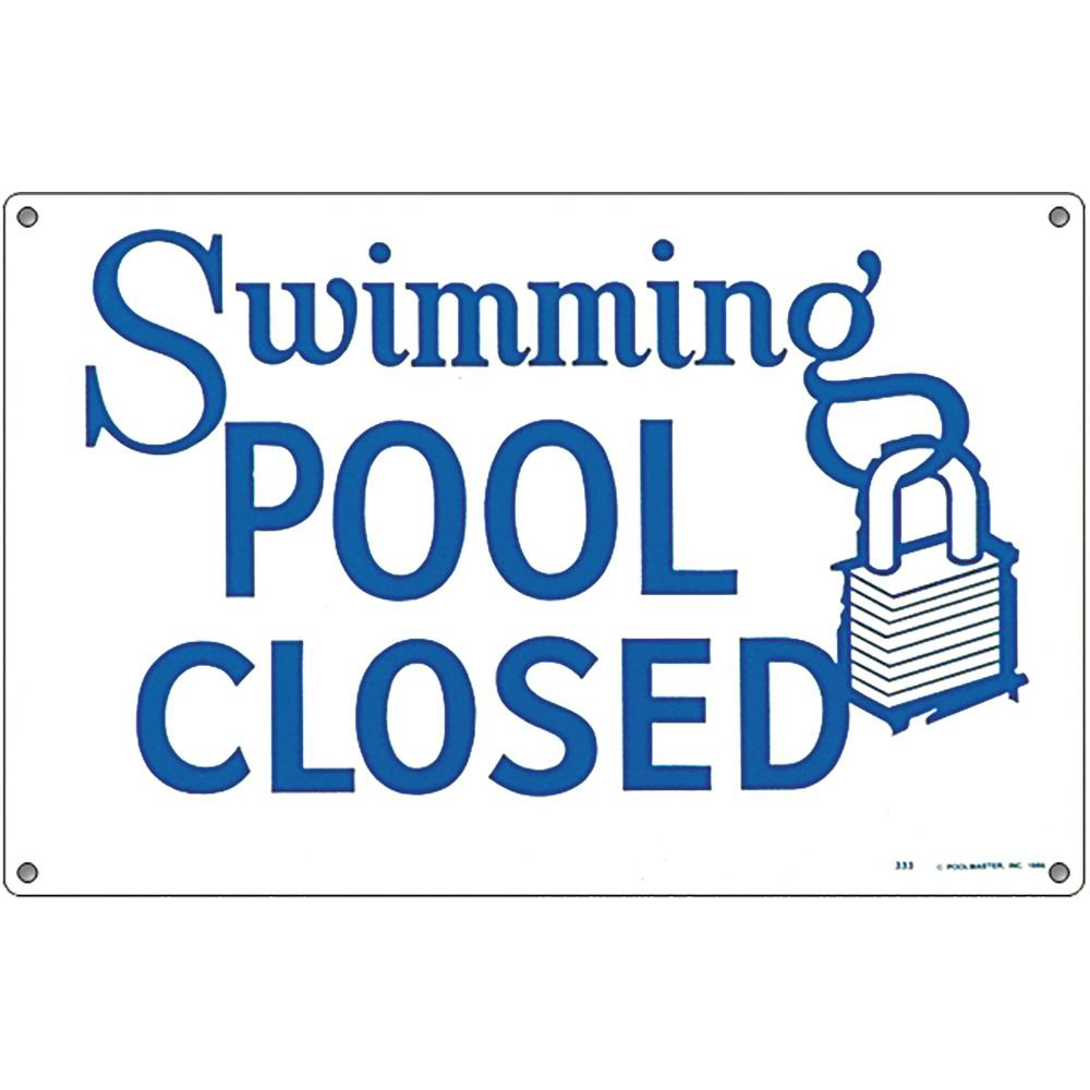 e1e55c383fa Poolmaster Residential or Commercial Swimming Pool Signs, Swimming ...