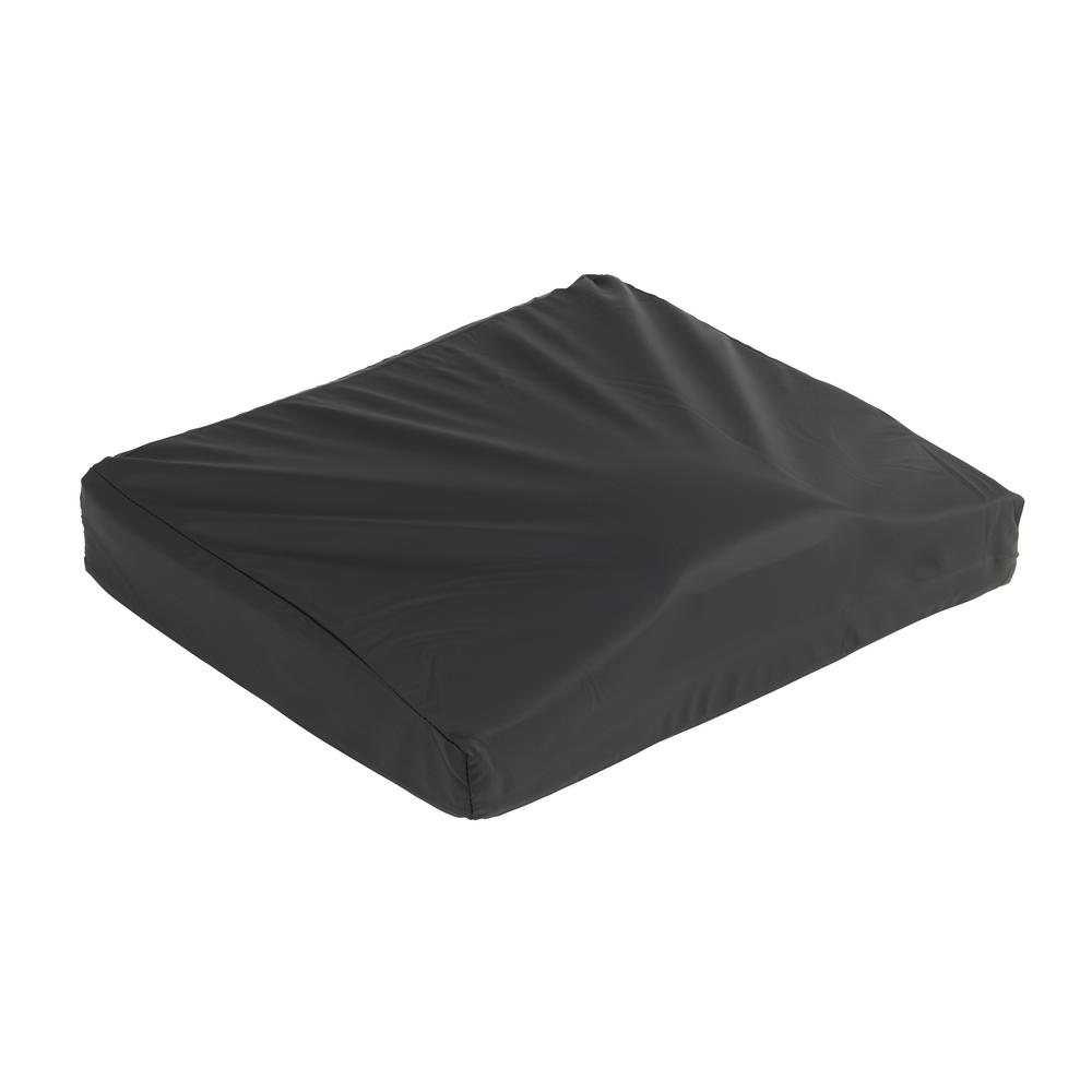 18 in. x 18 in. Titanium Gel/Foam Wheelchair Cushion
