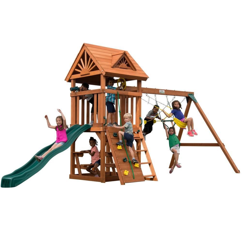 Swing-N-Slide Playsets DIY Sky Tower Wood Complete Playset