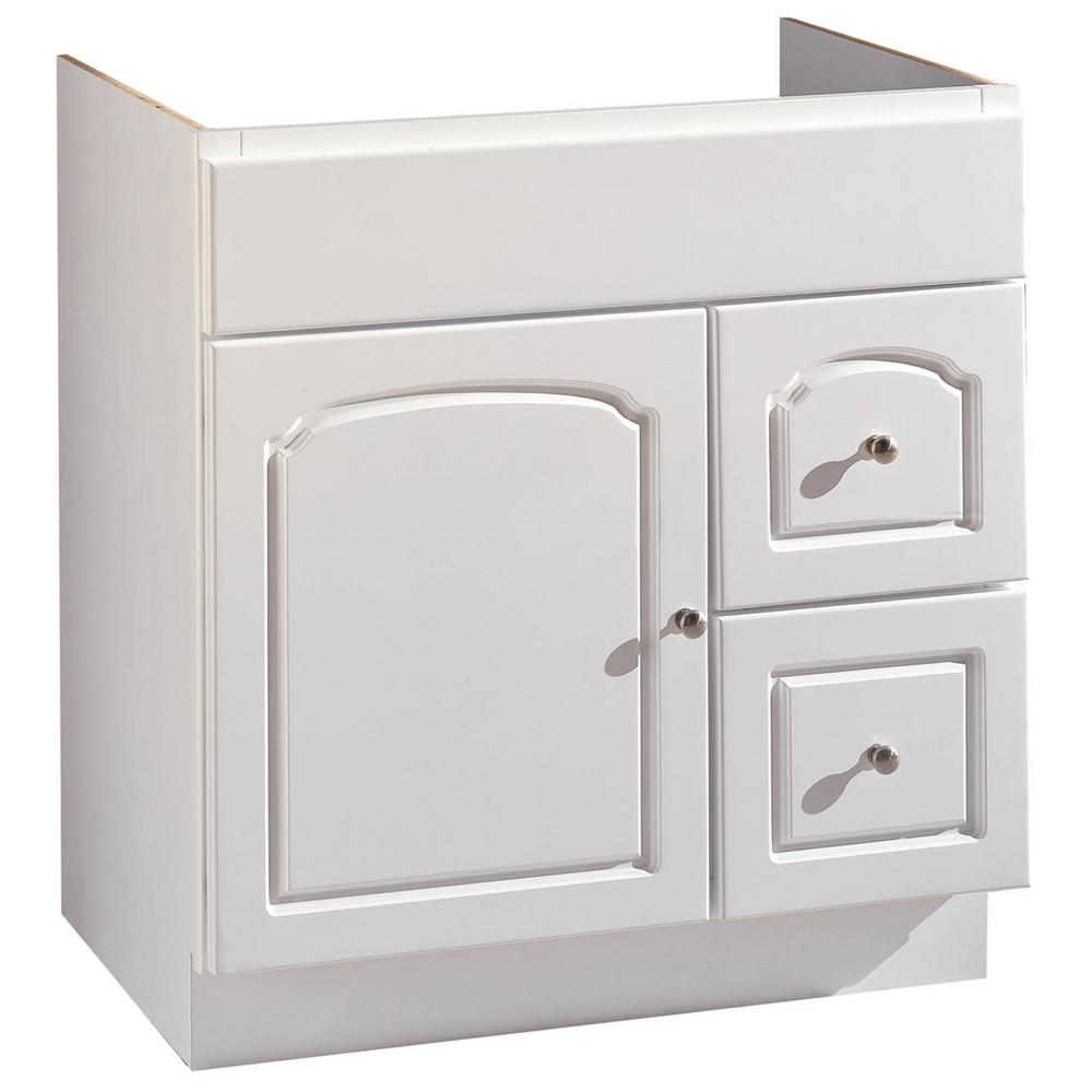 Hardware House 30 In W Bathroom Vanity Cabinet Only In