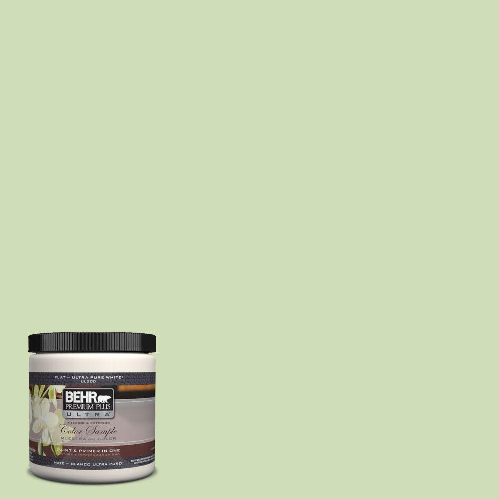 8 oz. #430C-3 Peridot Matte Interior/Exterior Paint and Primer in One