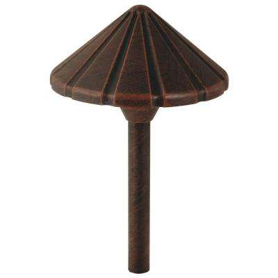 Galena-Style Low-Voltage 11-Watt Rubbed Bronze Metal Outdoor Landscape Path Light