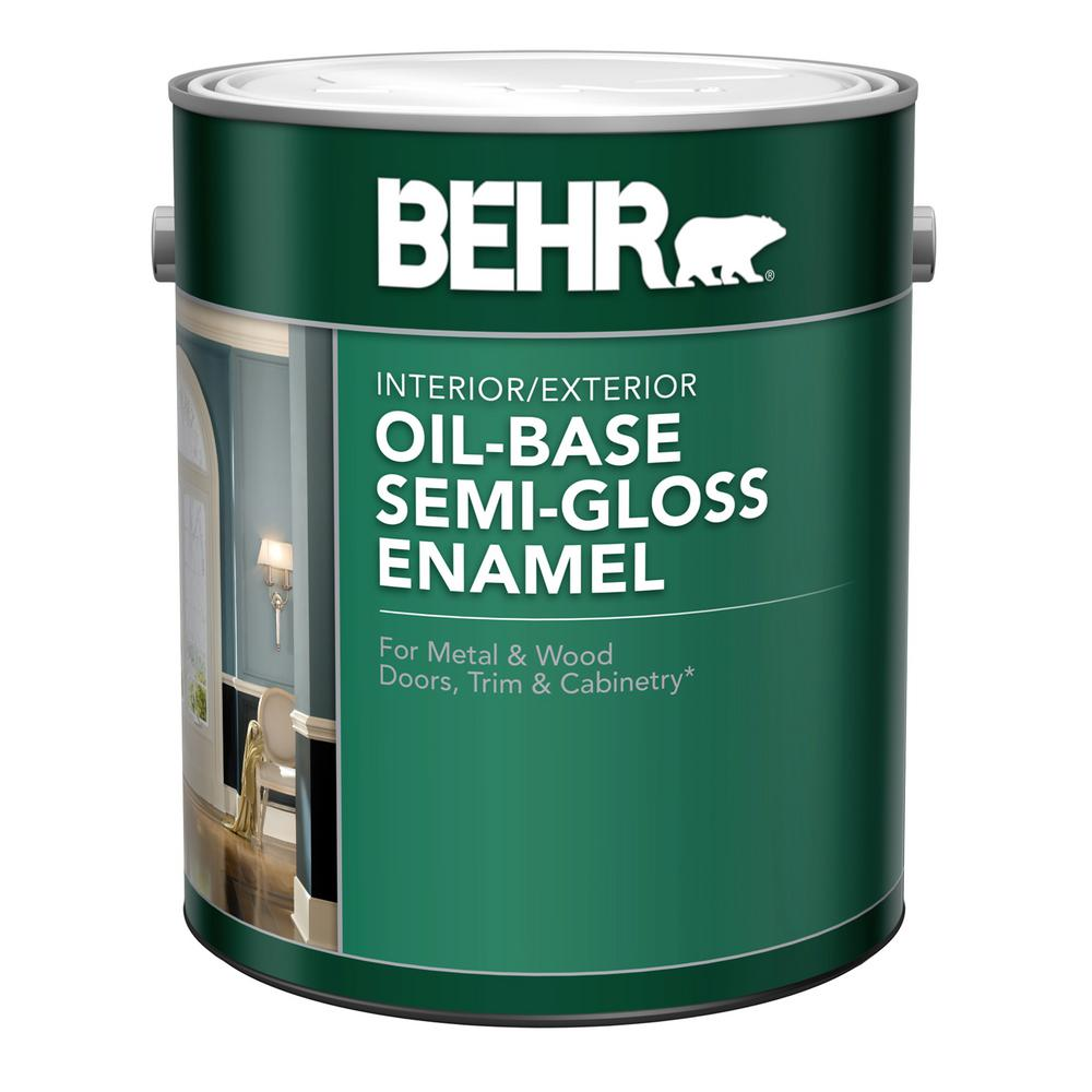 Behr Marquee 1 Gal T18 09 Soft Focus Semi Gloss Enamel Exterior Paint 545001 The Home Depot