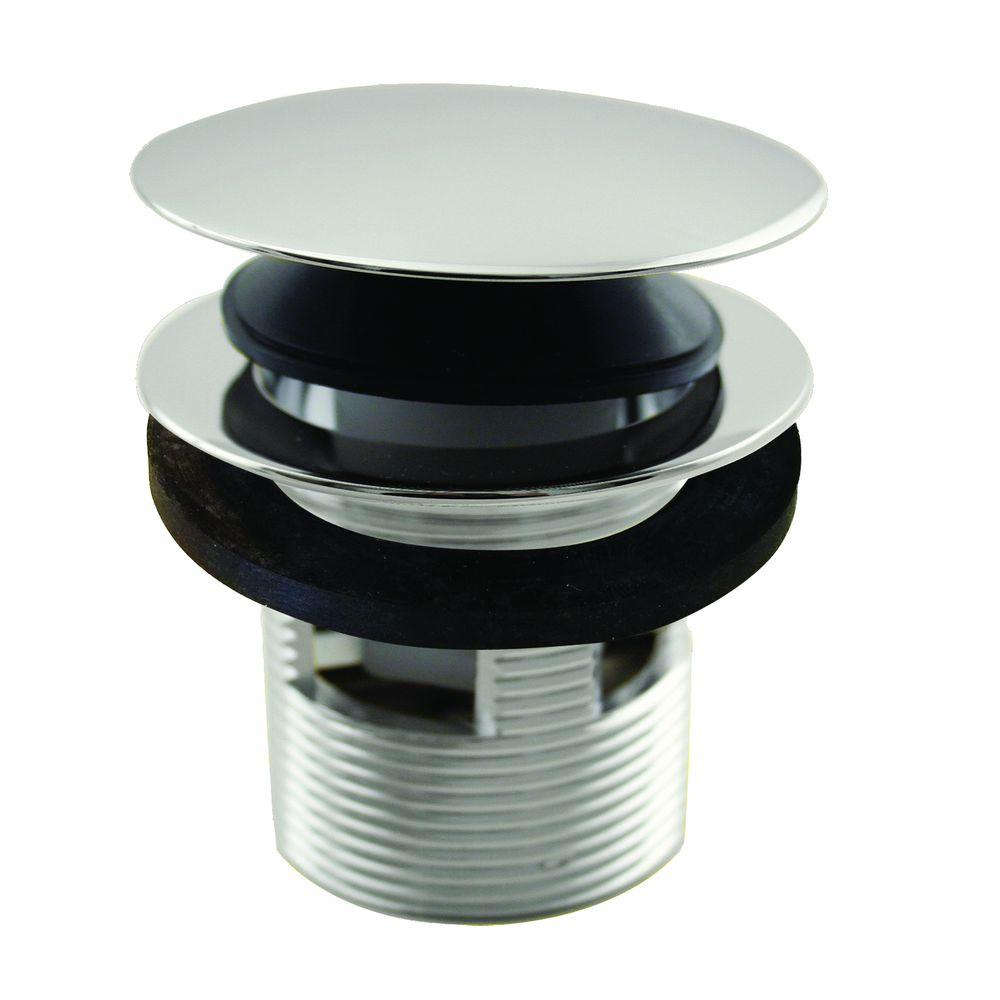 Westbrass 1-1/2 In. NPSM Integrated Overflow Round Tip-Toe