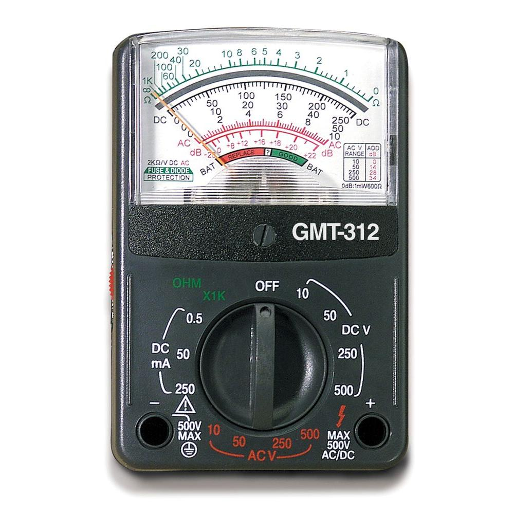 Gardner Bender 5-Function 12-Range Analog Multimeter