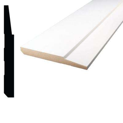 5/8 in. x 5-1/2 in. x 96 in. Primed MDF Step Base Moulding