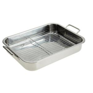 Stainless Steel Roasting Pan with Rack by