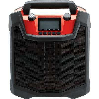 RC 4/36 120-Volt AM/FM Bluetooth Radio and Battery Charger