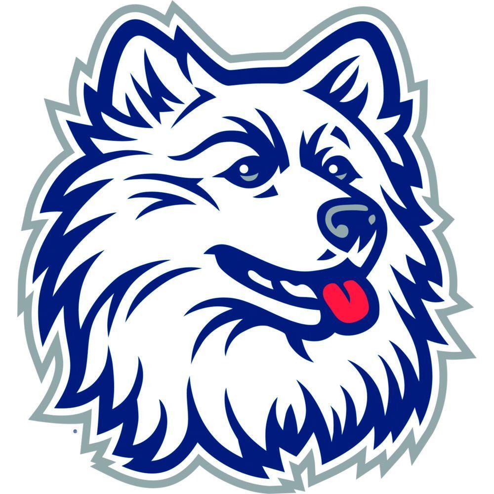 Fathead 36 in. x 39 in. U-Conn Huskies Wall Decal