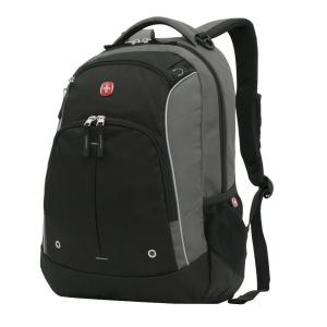 SWISSGEAR Grey and Black Laptop Backpack-17584215 - The Home Depot 66879cc2fdaef