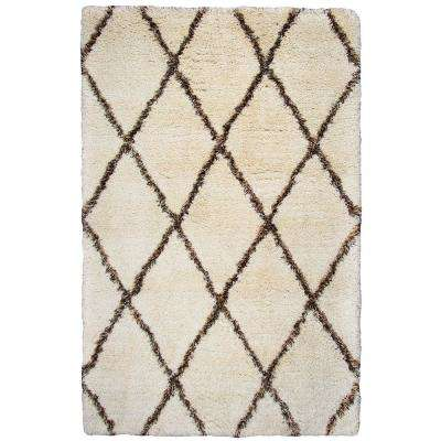 Connex Beige/Brown 7 ft. 6 in. x 9 ft. 6 in. Rectangle Area Rug