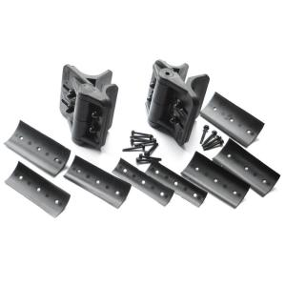 Black Heavy Duty Nylon Polymer Self Closing Multi