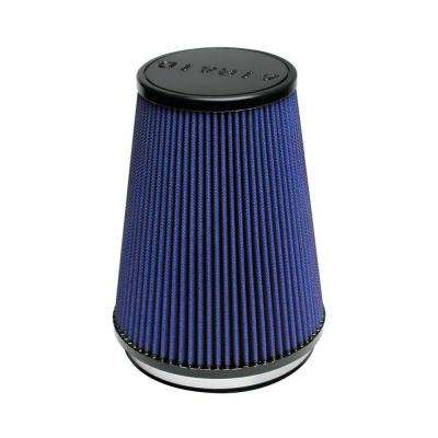 Universal Air Filter - Cone 6 x 7 1/4 x 5 x 9 - Blue SynthaMax
