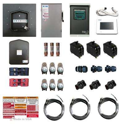 Solar Power PaQ 24-Electrical Component Kit for Attaching a Solar Array to Home