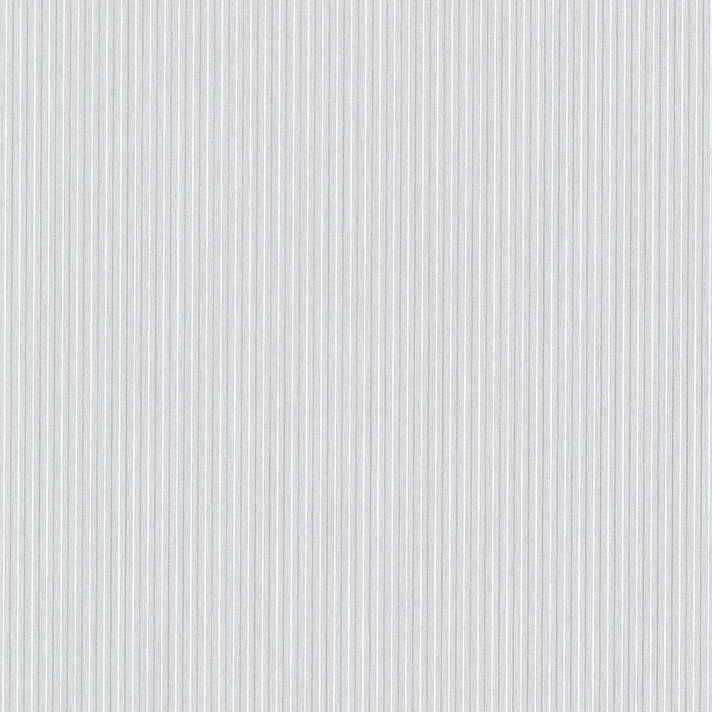 Advantage 8 in. x 10 in. Lily Light Blue Stripe Wallpaper
