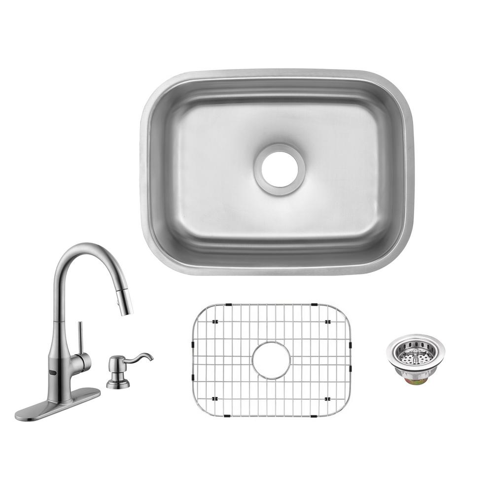 Glacier Bay All In One Undermount 18 Gauge Stainless Steel 23