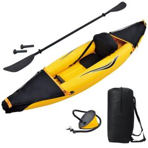 Click here to buy Blue Wave Nomad 1-Person Inflatable Kayak by Blue Wave.