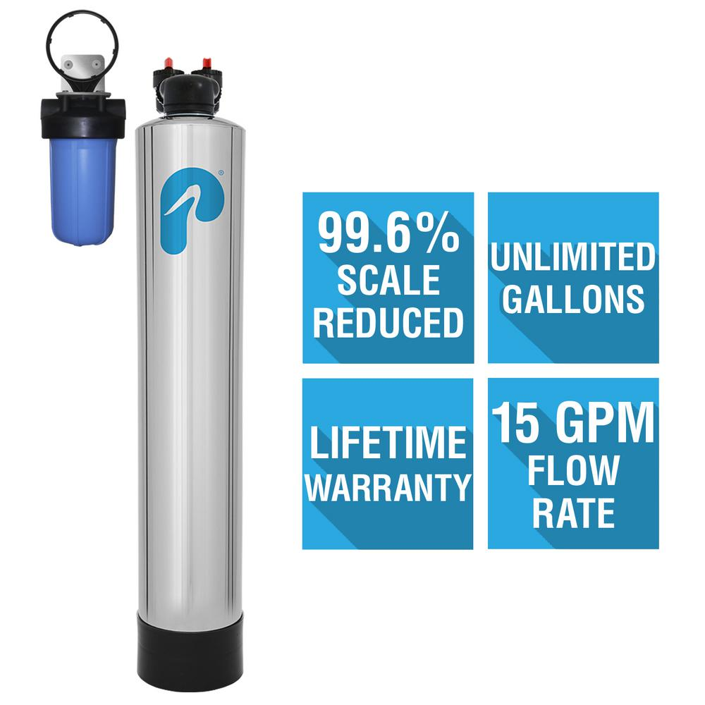 15 GPM Whole House NaturSoft Salt-Free Water Softener System