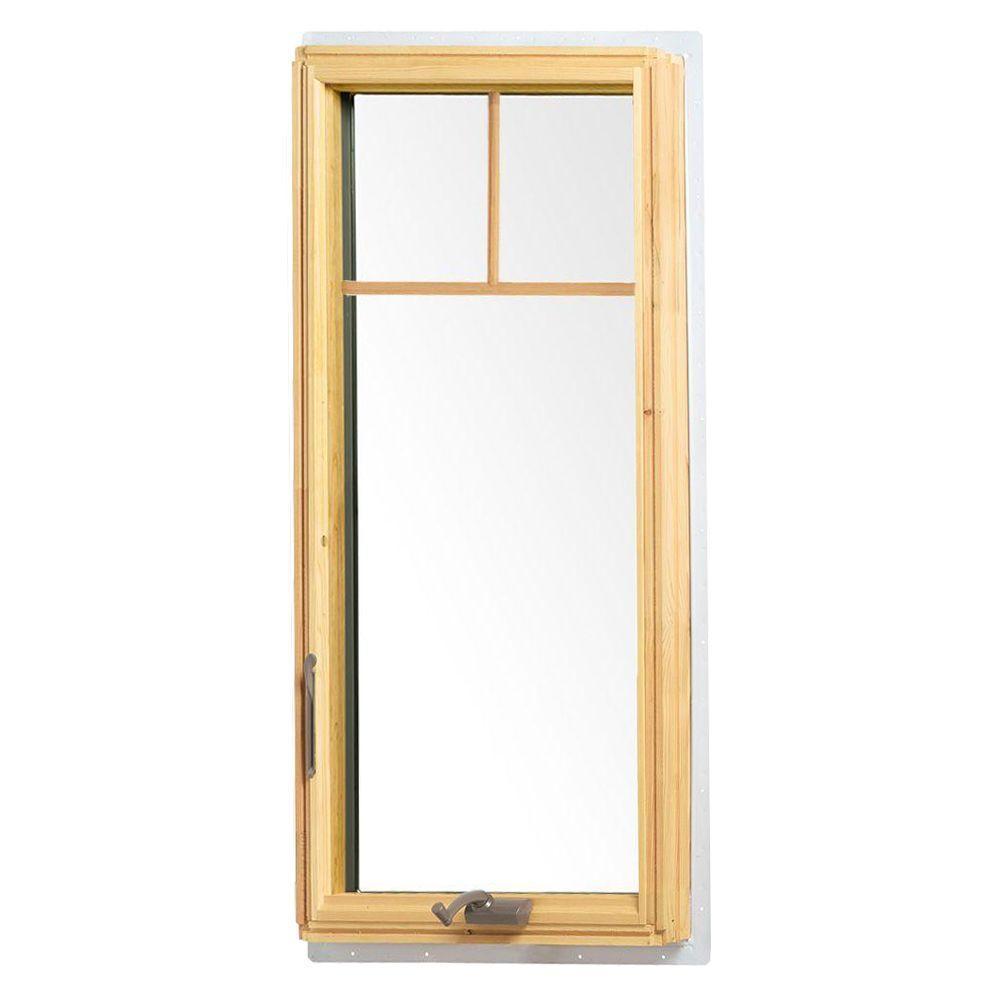 Andersen 24.125 in. x 48 in. 400 Series Casement Wood Window with ...