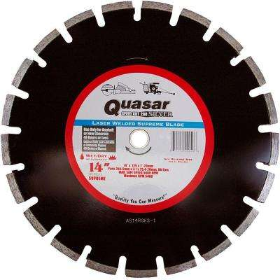 Speed Kut 200 Silver 14 in. Laser Welded Supreme Segmented Diamond Blade