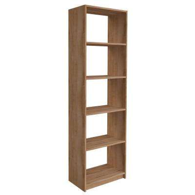 84 in. H x 24 in. W Nutmeg Shelving Tower Kit
