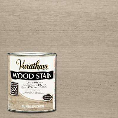 1 qt. 3X Sun Bleached Premium Wood Interior Stain (2-Pack)